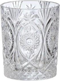 Drinkglas Flower Helder