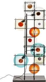 Kare Design Disk Colore Vloerlamp Van Gekleurde Schijven