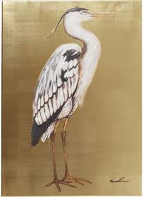 Kare Design Touched Heron Right Reiger Schilderij