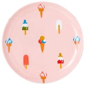 Bord ijsje - 18 cm