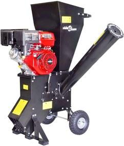 Houtversnipperaar op benzine met 15 PK motor