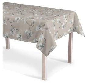 Rechthoekig tafelkleed, grijs-beige