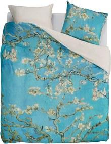 Beddinghouse Almond Blossom dekbedovertrekset van katoensatijn - inclusief kussenslopen