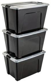 Iris New Top opbergbox - 3 stuks - 60 liter