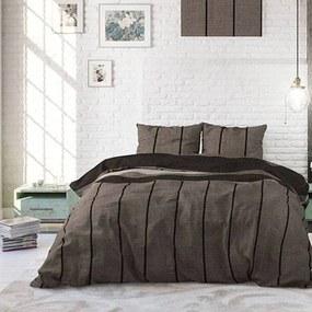 Sleeptime Elegance Kees - Taupe 1-persoons (140 x 220 cm + 1 kussensloop) Dekbedovertrek