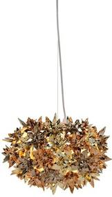 Kartell Bloom metallic hanglamp S2 goud/brons/koper