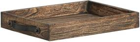 Dienblad Levi S - bruin - 40x30x6 cm - Leen Bakker
