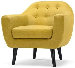 Ritchie fauteuil, okergeel