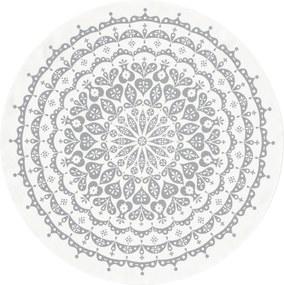 Vitra Round Lace tafelkleed 120 grijs