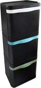 Afvalbak 87 Liter (3x29 L)