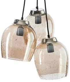 Rivièra Maison - Rue De Temple Triple Lamp - Kleur: goud