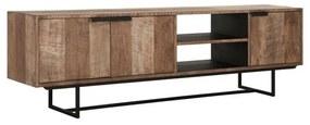 DTP Home Odeon TV-meubel Van Teakhout 200 Cm - 200x40x60cm.