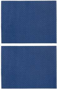 2-pak Placemats (blauw)