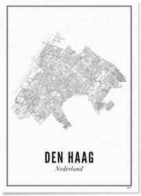WIJCK. Den Haag Stad print