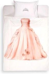 Snurk Princess kinderdekbedovertrekset van katoen perkal 160TC - inclusief kussenslopen