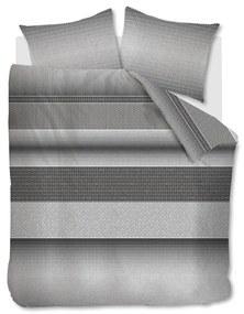 Rivièra Maison - RM Retrograde Duvet Cover grey 200x200/220 - Kleur: grijs
