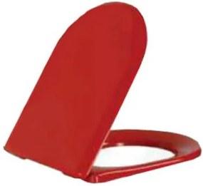 Toiletbril DC3031KO Softclose Toiletzitting Rood