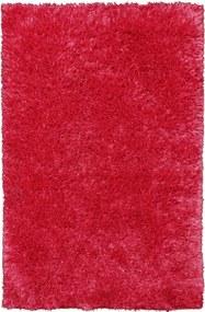 Bakero | Vloerkleed Raja Hoogpolig lengte 170 cm x breedte 240 cm x hoogte 4 cm kersenrood vloerkleden polyester op katoen | NADUVI outlet