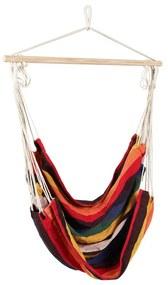 Hangstoel aan stok - multikleur - 90x100x100 cm