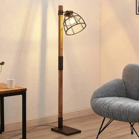 Tanina vloerlamp met kooikap - lampen-24
