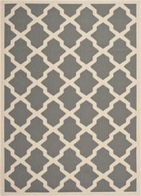 Safavieh | In- & outdoor vloerkleed Samanna 160 x 230 cm antraciet, beige vloerkleden polypropyleen vloerkleden & woontextiel | NADUVI outlet