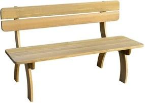 Tuinbank 150 cm FSC geïmpregneerd grenenhout