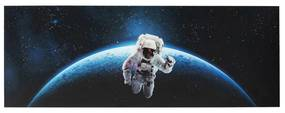 Kare Design Man In Space Astronaut Schilderij 240x80