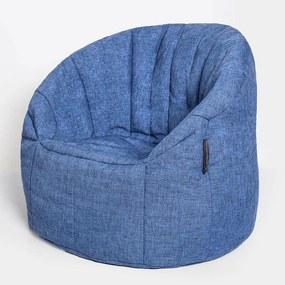 Ambient Lounge Butterfly Zitzak - Blue Jazz