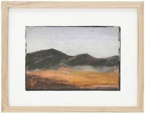 Tiny art frame S: mountains