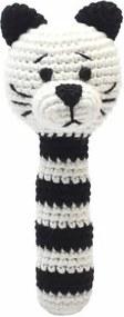 Rammelaar kat zwart wit - Rammelaar