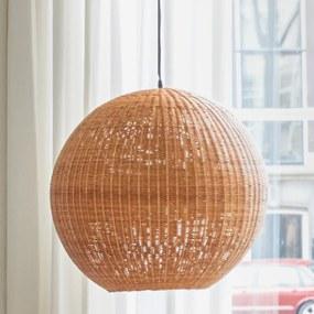 HKliving Bamboo Ball Ronde Bol Lamp Van Bamboe