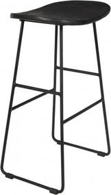 Felis Lifestyle Barkruk Tangle 68 X 43 Cm Hout/Staal Zwart