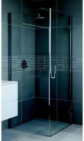 Bruynzeel Module douchecabine 90x100x210cm glans aluminium profiel en helder glas 280720k