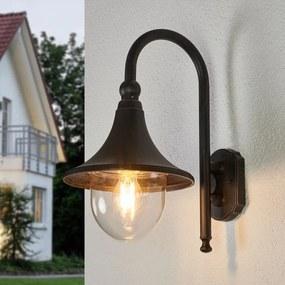 Buitenwandlamp Daphne, antiek zwart - lampen-24