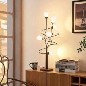Hannes - dimbare LED tafellamp met glazen kappen