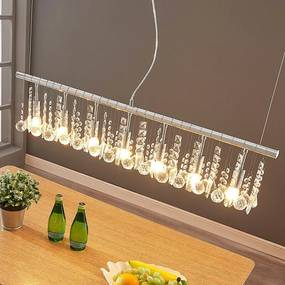 Hanglamp Matei met 7 lampjes, chroom - lampen-24