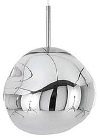 Hanglamp Sanimex Njoy Met E27 Fitting 20 cm Inclusief 4W Lamp Glas Chroom