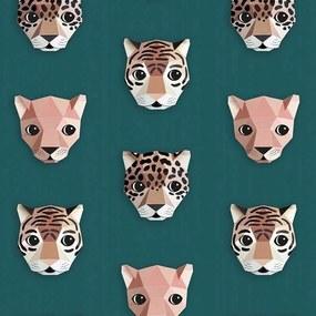 Studio Ditte Panthera behang groen
