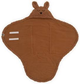 Wikkeldeken Bunny 100x105cm - Caramel - Babydeken