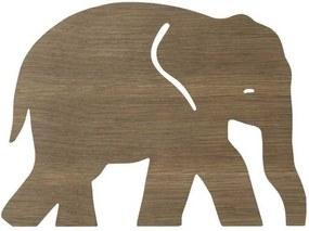 Ferm Living Elephant wandlamp smoked oak