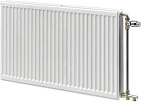 Stelrad Hygiene paneelradiator type 30 + strippen 500x2800mm 3576W wit 204053028