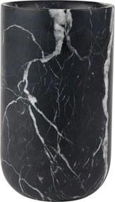 Zuiver Marble Bloemenvaas Fajen Zwart