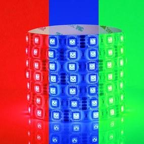 RGB LED Strip, 5 Meter, 14.4 Watt/meter, 5050 LED's, Waterdicht IP65