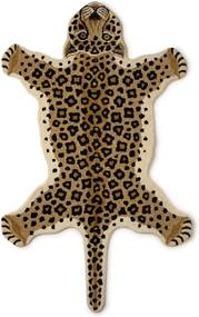 Doing Goods Loony Leopard vloerkleed 150 x 90 cm