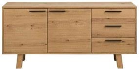 Dressoir Liden - eikenkleur - 71x150x40 cm - Leen Bakker
