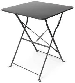 Bistrotafel vierkant - antraciet - 60x60x71 cm