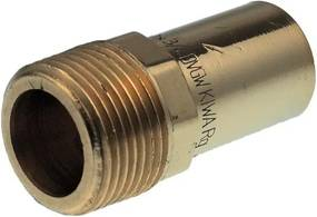 Vsh Xpress overgangskoppeling 1 2 x 22 mmbu x spie 6280g koper 4803282