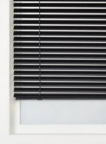 Jaloezie Aluminium Mat 50 Mm Zwart (zwart)