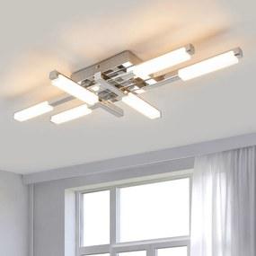 Felle LED plafondlamp Patrik, IP44 - lampen-24