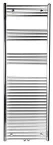 Handdoekradiator Sapho Alya Recht Middenaansluiting 45x80 cm 266W Chroom